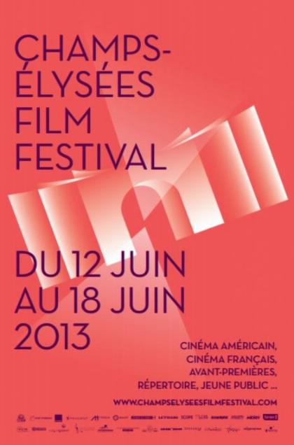 Affiche du champs élysées film festival 2013