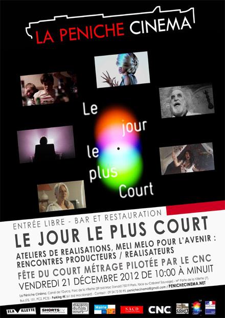 Affiche du festival Le jour le plus court 2012