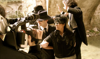 Making-Of d'un atelier cinéma autour de la découverte des talents