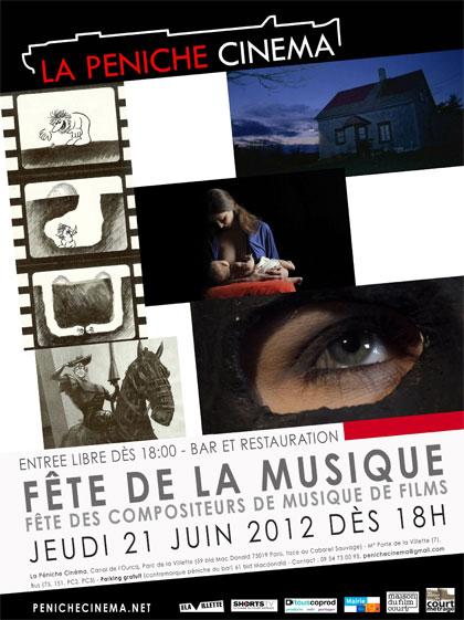 La fête de la musique à la Péniche Cinéma