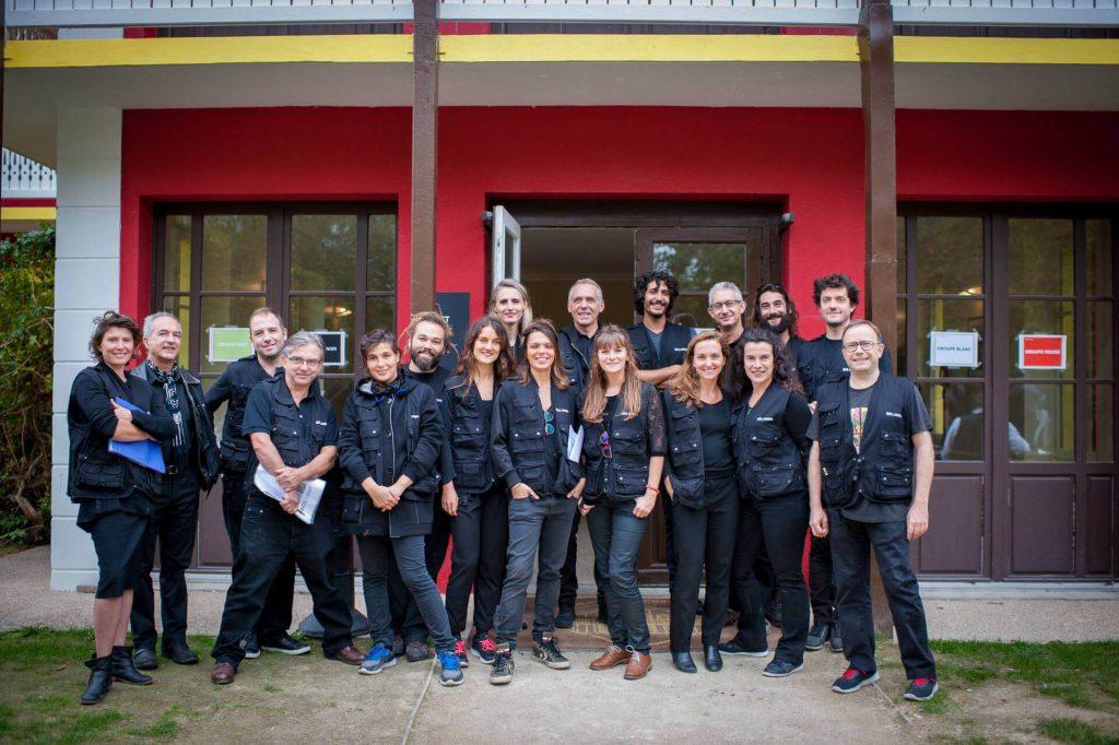 L'équipe des spécialistes du Team Building